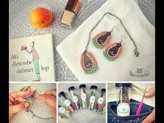 Kapszula-kollekció Lótusz - YouTube Crochet Earrings, Youtube, Jewelry, Jewlery, Jewerly, Schmuck, Jewels, Jewelery, Youtubers
