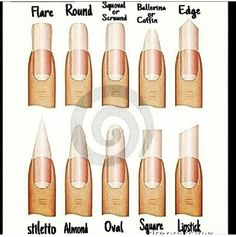 Nails different styles