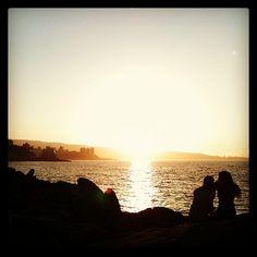 Apuntes y Viajes: Amor al atardecer