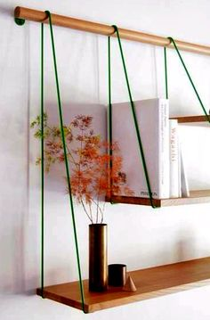 could we adapt this idea to replicate your hanging shelves from Dublin? but painted/covered