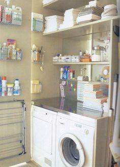 Very Small Laundry Room Ideas Nook Closet Storage Utility