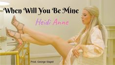 Heidi Anne - When Will You Be Mine (Official Video) Ballet Shoes, Videos, Ballet Flat, Ballet Heels, Dancing Girls, Ballet Shoe, Pointe Shoes