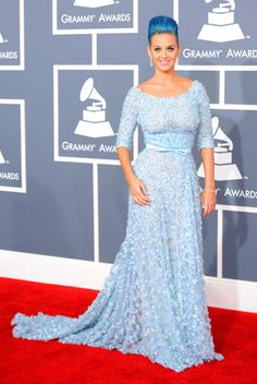 Katy Perry in Elie Saab. I'm in love with this dress and I'm so glad she wore it!