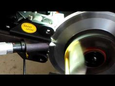 On Car brake Rotor skimming Brake Rotors, Science And Technology, Outdoor Power Equipment, Car, Automobile, Vehicles, Cars, Autos