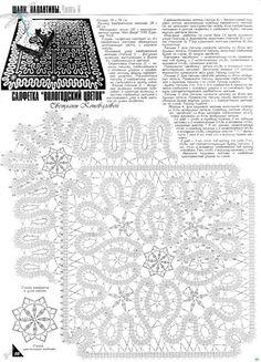 View album on Yandex. Filet Crochet, Form Crochet, Crochet Diagram, Crochet Chart, Crochet Home, Irish Crochet, Crochet Motif, Crochet Designs, Crochet Doilies