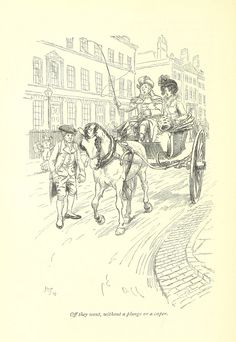 Image taken from page 70 of 'Northanger Abbey and Persuasion ... With illustrations by Hugh Thomson and an introduction by Austin Dobson' | Flickr - Photo Sharing!