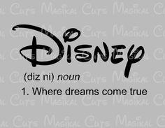 Disney Definition SVG, Studio, EPS, and JPEG Digital Downloads – Magikal Cuts