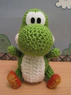 Crochet Patterns Yoshi : ... about Crochet on Pinterest Amigurumi, Totoro and Star wars crochet