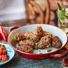 Quibe are widely-enjoyed as a bar snack and street food in Brazil so they are an ideal way to bring a bit of South American flavour to your next gathering and a great way to make the most of minced beef.