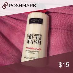BRAND NEW Victoria's Secret Pomegranate Body Wash BRAND NEW Victoria's Secret Pomegranate Body Wash Victoria's Secret Makeup