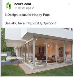 Home design for pets