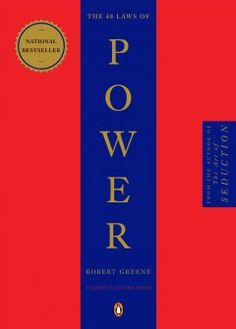 The 48 Laws of Power (BOOK)--Amoral, cunning, ruthless, and instructive, this piercing work distills three thousand years of the history of power in to forty-eight well explicated laws. As attention-grabbing in its design as it is in its content, this bold volume outlines the laws of power in their unvarnished essence, synthesizing the philosophies of Machiavelli, Sun-tzu, Carl von Clausewitz, and other great thinkers.