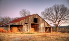 Old Barn by Michael Brown