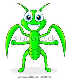 vector cute praying mantis cartoon stock illustration royalty rh pinterest com praying mantis clipart black and white cute praying mantis clipart