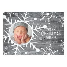 Christmas Photo Card - invitations personalize custom special event invitation idea style party card cards