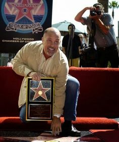 Billy Joel star on the Hollywood walk of fame 2004