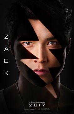 Zack, The Black Ranger — Ludi Lin