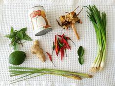 Homemade Tom Kha Gai Soup