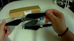 Threeking DJI Phantom4/4Pro/Pro+ための強化された9450Sプロペラ 炭素繊維とプラスチック製 2セット(ブラック+ホワイト)00Unboxing(開封の儀)