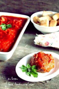 Биточки в томатном соусе