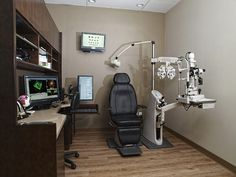 Optometry Office Furniture, examination rooms