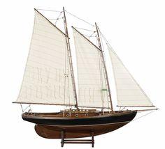 model boat for decor