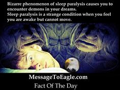 Cool Science Facts: Bizarre Phenomenon Of Sleep Paralysis Causes You To Encounter Demons In Your Dreams