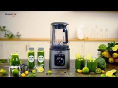 Kuvings Vacuum Blender Model  Kuvings Vacuum Blender SV500S Tip  Ev Tipi Renk  Gri Serisi  SV500S Hız  32,000 RPM Güç  1700 W Voltaj  220 V / 50-60 Hz Kontrol  Akıllı Buton Ağırlık  6,2 Kg Kapasite  2,3 L / 1,6 L Ölçüler  216 x 240 x Spinach, Smoothies, How To Apply, Change, Usa, Cooking, Green, Kitchen, Design