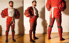 Red & Green landsknecht