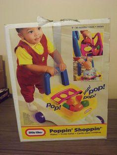 "Little Tikes ""Poppin' Shoppin' Shopping Cart"""