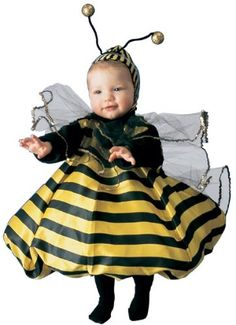 infant toddler bumble bee halloween costume