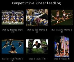 competitive cheerleading.