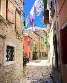 Rovinj-Old Town#Croatia