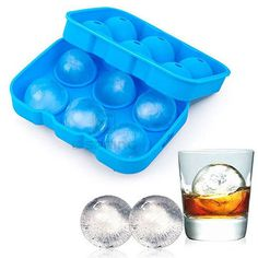 6 Hole Ice Cube Tray Ice Maker Chocolate Candy Cake Creative Bar Tools