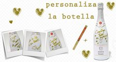 #SanValentin. Escribe un mensaje de #amor en la botella de #cava Anna Blanc de Blancs de Codorniu