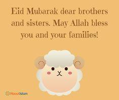 EID MUBARAK BROTHERS AND SISTERS!