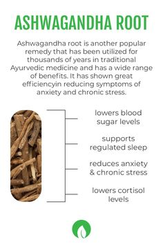 Ashwagandha is an amazing remedy with an abundance of benefits! It has been shown to lower blood sugar levels, lower cortisol levels, improve symptoms of anxiety, depression, and much more! It has also been shown to improve symptoms of fatigue and support regulated sleep. You can find this powerful ingredient in our Daily Focus formula! Organic Recipes, Vegan Recipes, Lower Cortisol Levels, Detox Organics, Fatigue Symptoms, Chronic Stress, Lower Blood Sugar, Natural Detox, Detox Your Body