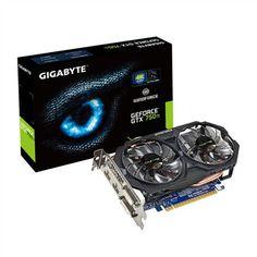 GeForce GTX750Ti OC 2GB - Gigabyte Technology - GV-N75TOC-2GI