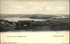 Highland Lake, Winsted CT 1900s