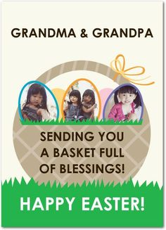 Basket of Blessings - Easter Cards in Pearl | Magnolia Press