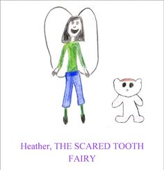 Heather, The Scared Tooth Fairy { Children's Book Review }