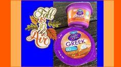 Limited Edition Dannon Light & Fit Pumpkin Pie Greek Yogurt