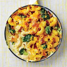 Chicken-Broccoli Mac and Cheese with Bacon - Dinners in 25 Minutes or Less - Cooking Light