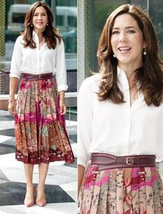 Princesa Mary, Crown Princess Mary, Denmark, Print Patterns, Sequin Skirt, Product Launch, Royals, Creative, Skirts