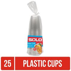 Option for Plastic Cups; week 4 Solo Cup, Plastic Cups, Walmart Shopping, Drinkware, Craft Beer, Counting, Drinking, Water Bottle