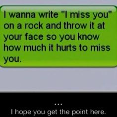 Miss you! Quotes, cute, sweet, love.