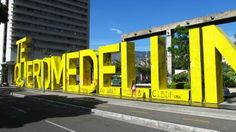 Mi ciudad City Branding, South America, Four Square, Culture, Cities, Stamp, Angel, Display, Spaces