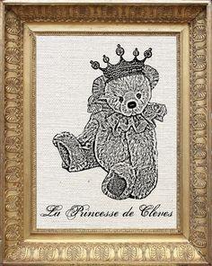 Princess Teddy Bear! <3