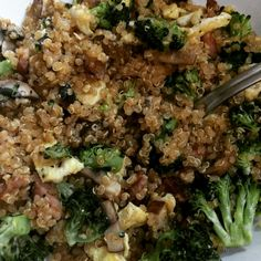 30-Minute Bacon Fried Quinoa — Like Fried Rice, but with More Protein!