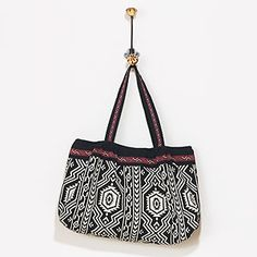 Loving this bag via World Market $35